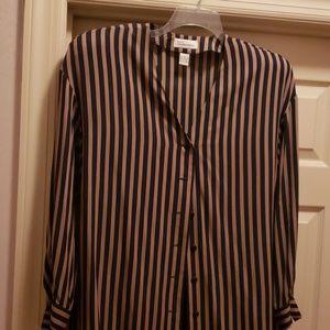 Dana Buchman silk blouse.